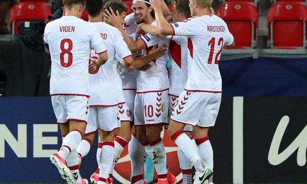 Repubblica Ceca-Danimarca 2-4, i cechi salutano l'Europeo
