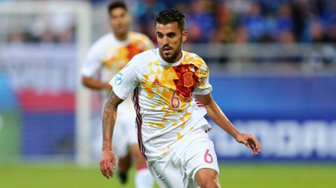 Il centrocampista spagnolo Dani Ceballos eletto miglior giocatore del torneo